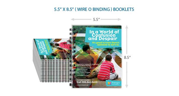 5.5x8.5 Bulk Booklets