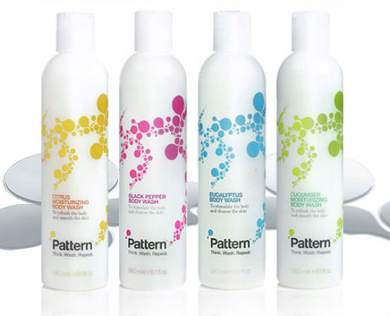 Bottle Label – Pattern Body Washes