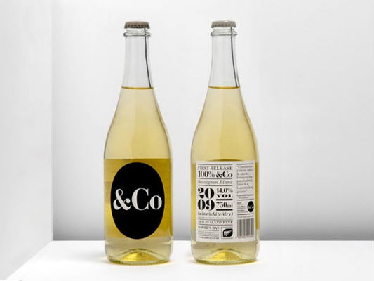 Bottle Label – &Co