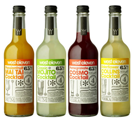 Bottle Label – West Eleven Cocktails