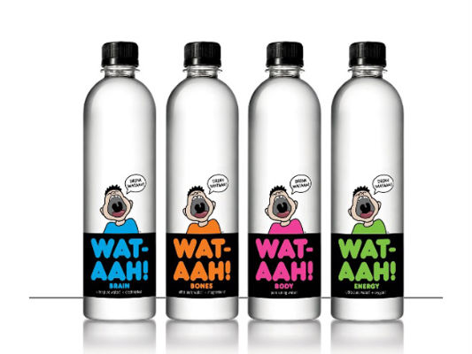 Bottle Label – Wat-Ahh!