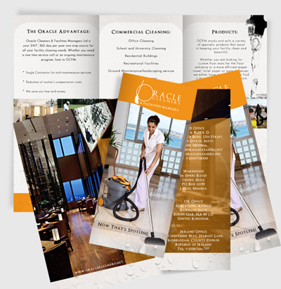 Marketing Brochure Sample - Jean Passion