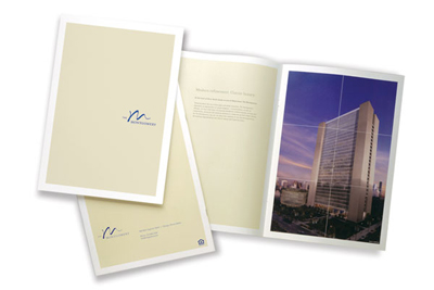 Marketing Brochure Sample - Pamphlet