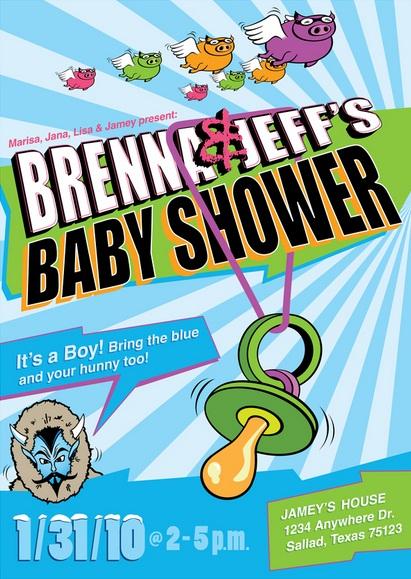 Baby Shower Invitation Design Idea_06