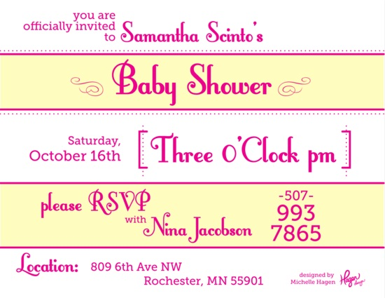 Baby Shower Invitation Design Idea_21