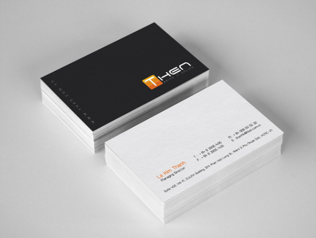 Business Card by Jimmi Tuanart