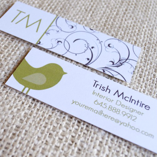 Slim Business Card Designs - KatieDyd Designs