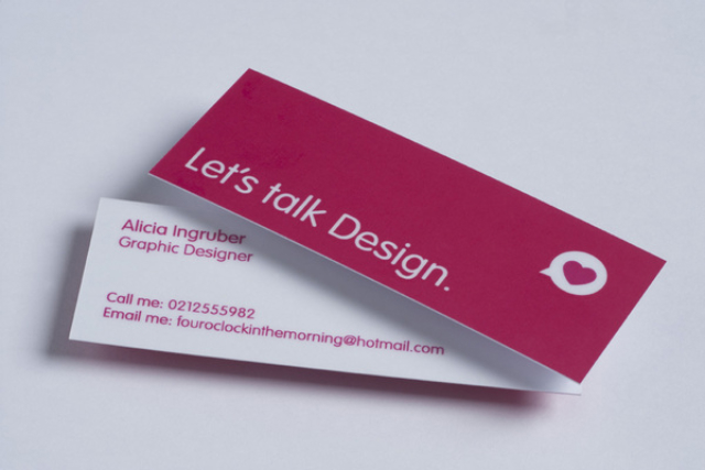 Slim Business Card - Alicia Ingruber