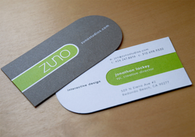 Business Card Design - Zuno Studios