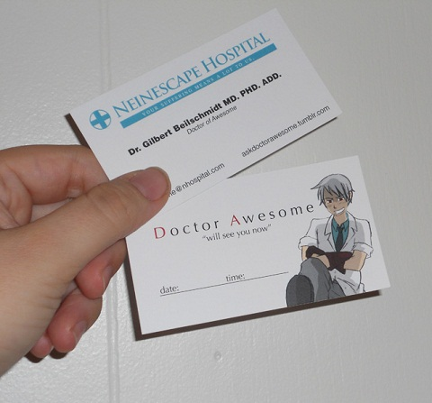 /business Cards Front Back