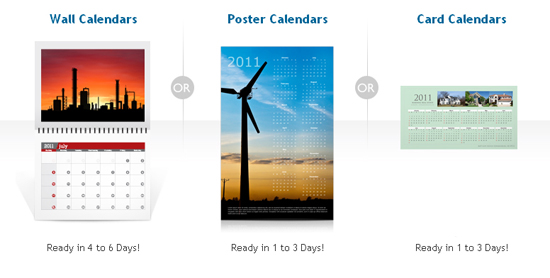 Cheap Calendar Printing - Product Line
