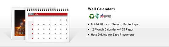 cheap calendar printing - wall calendars