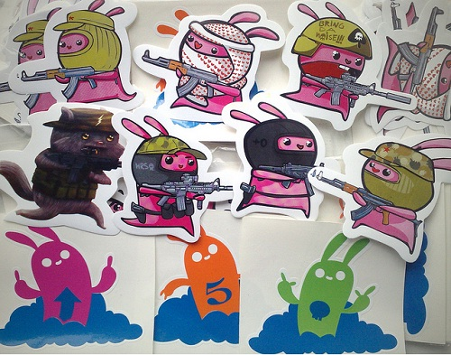 Cool Sticker Printing Designs