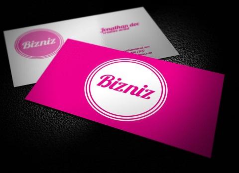 Custom Business Cards 074