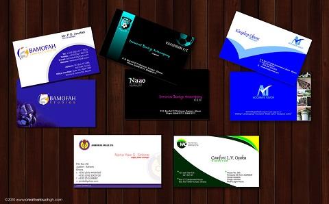 Custom Business Cards 085