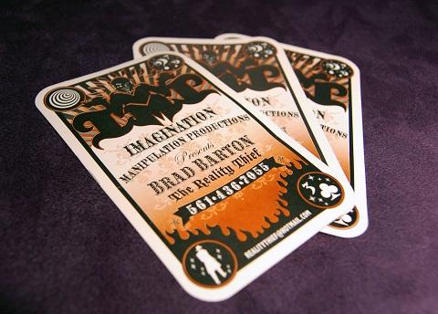 Die Cut Business Card Design Ideas 1