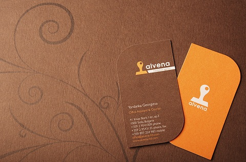 Die Cut Business Card Design Ideas 11