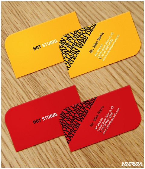 Die Cut Business Card Design Ideas 13