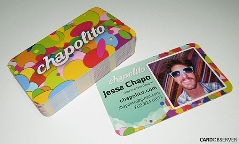 Die Cut Business Card Design Ideas 6