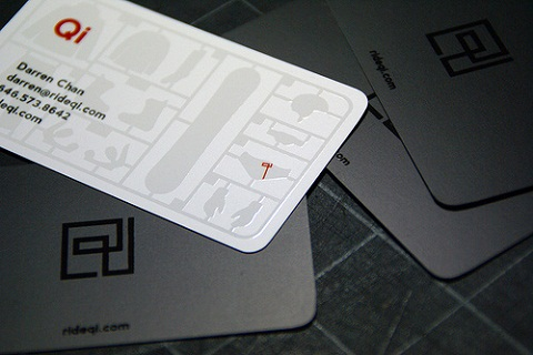 Die Cut Business Card Design Ideas 10