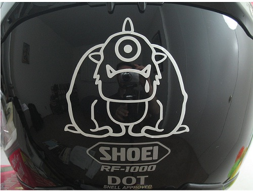 Helmet Stickers 02 (andrew davidoff, Some Rights Reserved)