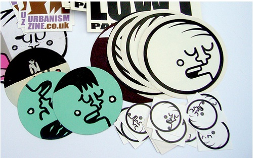 Helmet Stickers 09 (Adam Round, All Rights Reserved)