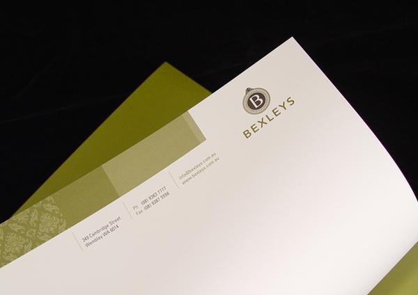 company letterhead sample. Letterhead Sample 3