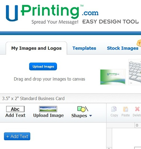 Make Your Own Business Cards UPrinting