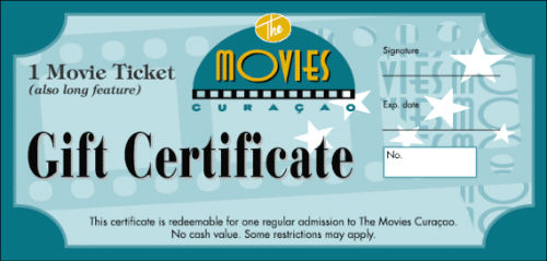 movie ticket gift certificate template uprintingcom online printing business cards brochures postcards