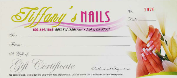 nail salon gift certificate 01 Top Result 70 Unique Nail Gift Certificate