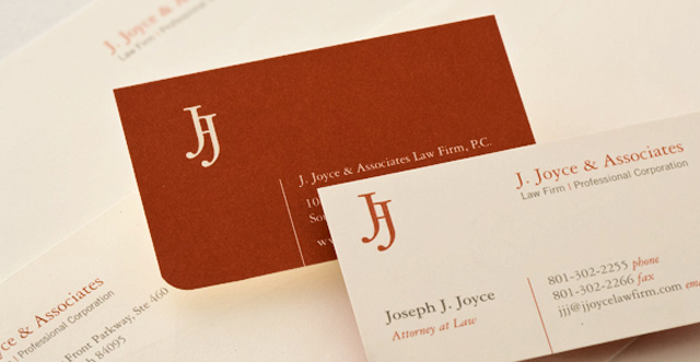 Professional Lawyer Business Cards - modern8