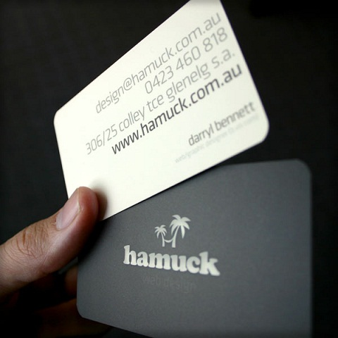 Rounded Corner Business Card 10