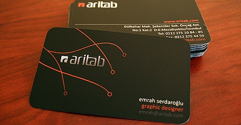 Rounded Corner Business Card 12