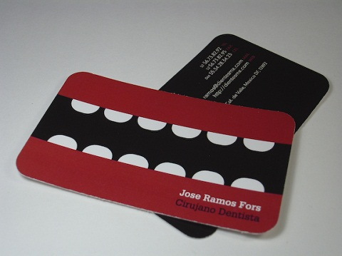 Rounded Corner Business Card 15
