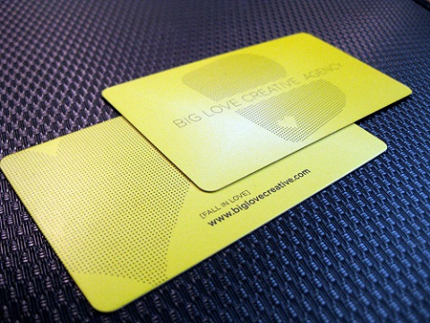 Rounded Corner Business Card 4