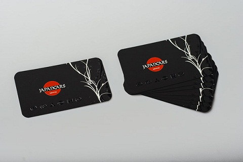 Rounded Corner Business Card 7