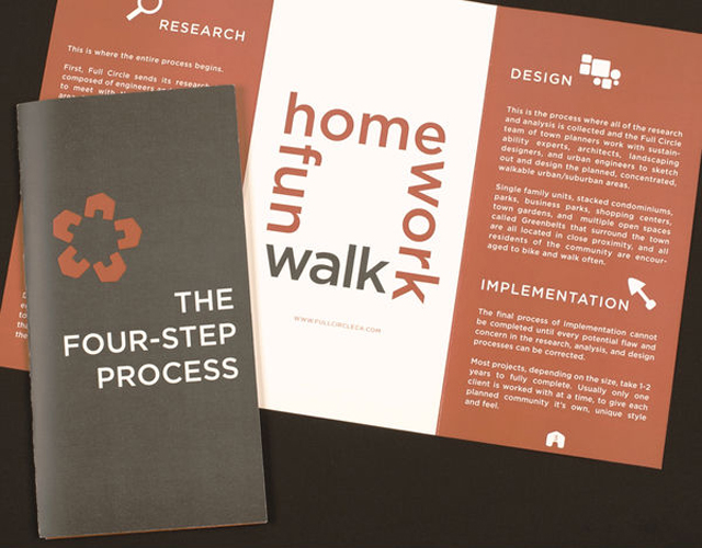 real estate brochure design samples. Sample Business Brochure