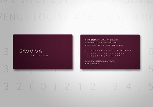 Sample Business Cards