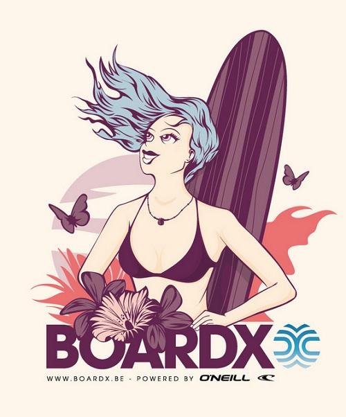 Surf Stickers 04