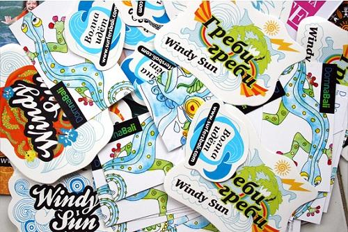 Surf Stickers 11