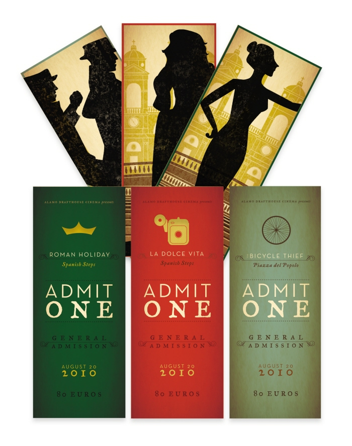 ticket design ideas
