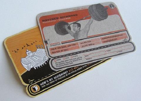 Unique Business Cards 25