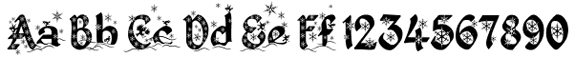 King Things Christmas Font