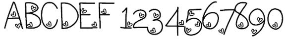 Loveness Three Valentine Fonts
