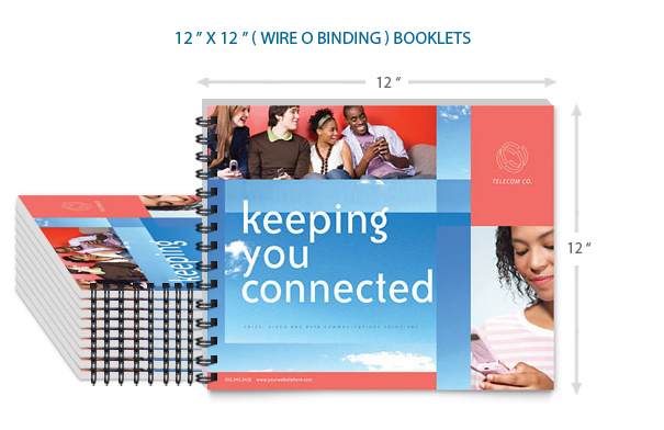12x12 Bulk Booklets