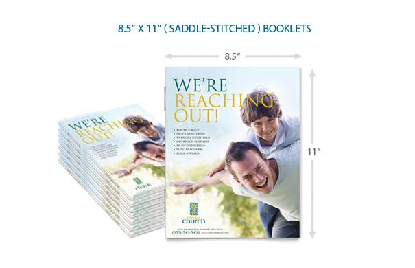 8.5x11 Bulk Booklets