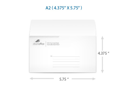 A Envelope  Rsvps And Mailing Card Envelopes  UprintingCom