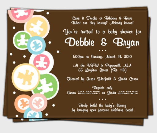 Baby Shower Invitation Design Idea_07