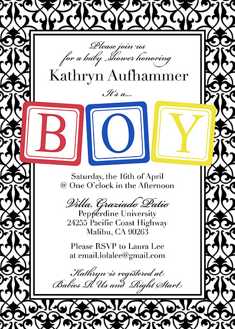 Baby Shower Invitation Design Idea_13