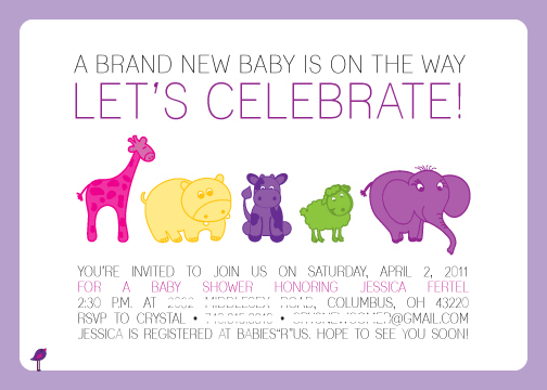 Baby Shower Invitation Design Idea_14